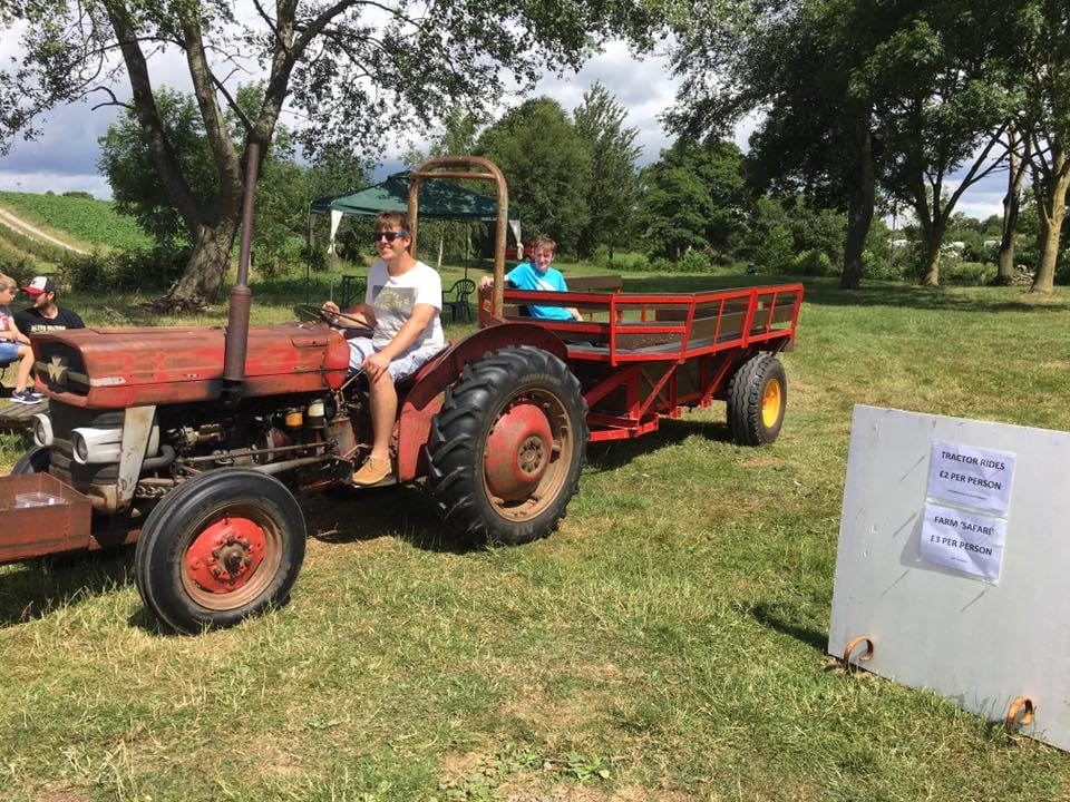 Woore Fruit Farm – We'll be back again in 2022